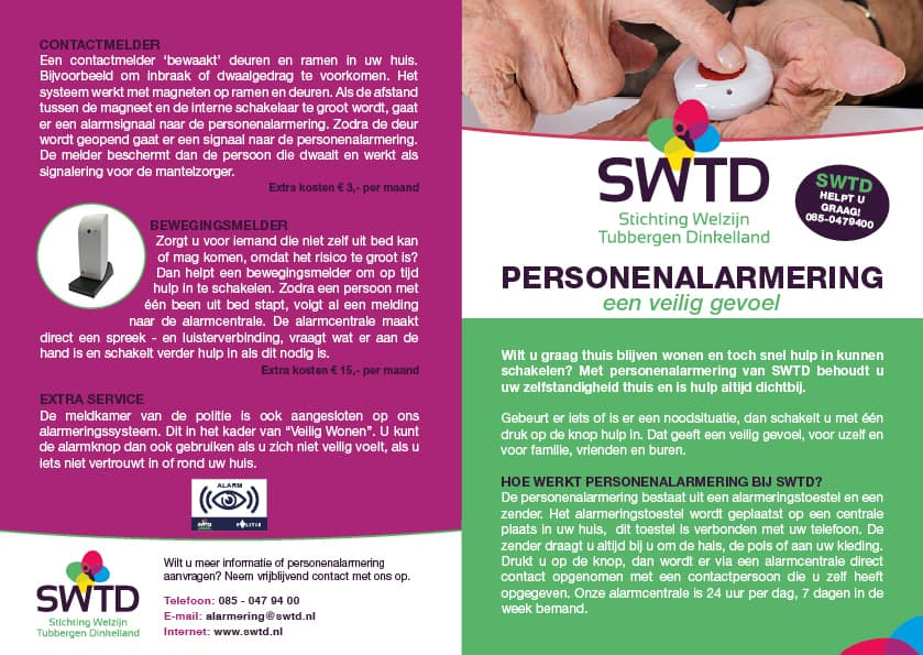 Folder SWTD Personenalarmering